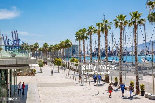 Muelle Uno Malaga waterfront mall