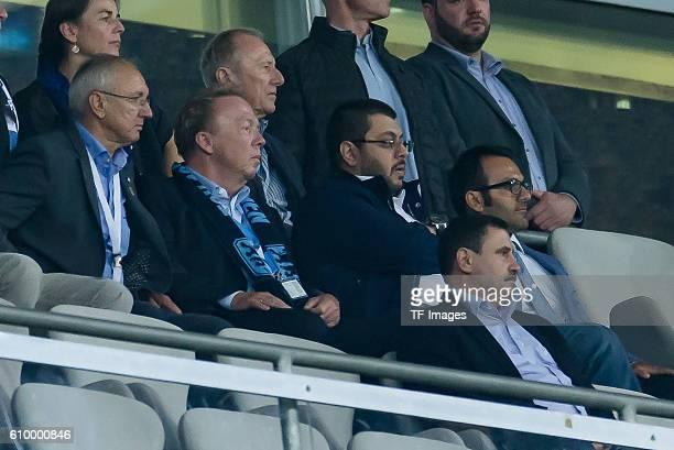 Muenchen Deutschland 2 Bundesliga 5 Spieltag TSV 1860 Muenchen 1 FC Union Berlin Praesident Peter Cassalette Aufsichtsratsvorsitzender Hasan Ismaik
