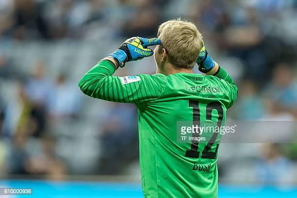 Muenchen Deutschland 2 Bundesliga 5 Spieltag TSV 1860 Muenchen 1 FC Union Berlin Torwart Jakob Busk Jensen