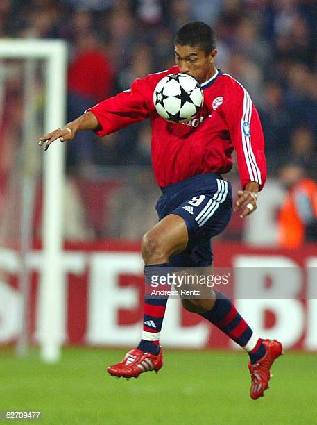 LEAGUE 02/03 Muenchen FC BAYERN MUENCHEN AC MAILAND 12 Giovane ELBER/FC BAYERN MUENCHEN