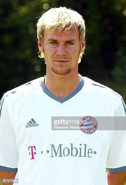 1 BUNDESLIGA 02/03 Muenchen FC BAYERN MUENCHEN Alexander ZICKLER