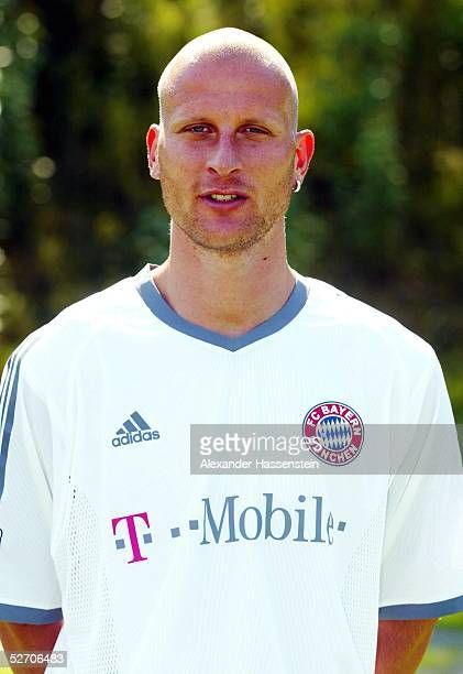 1 BUNDESLIGA 02/03 Muenchen FC BAYERN MUENCHEN Carsten JANCKER
