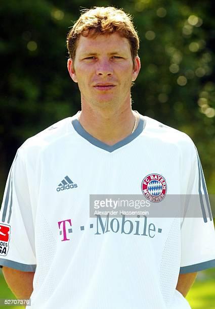 1 BUNDESLIGA 02/03 Muenchen FC BAYERN MUENCHEN Michael TARNAT