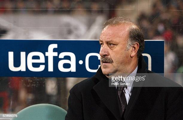 LEAGUE 01/02 Muenchen FC BAYERN MUENCHEN REAL MADRID 21 Trainer Vicente del BOSQUE/REAL