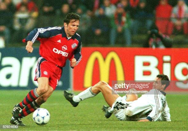 LEAGUE 99/00 Muenchen FC BAYERN MUENCHEN REAL MADRID 41 Lothar MATTHAEUS/BAYERN Fernando REDONDO/MADRID