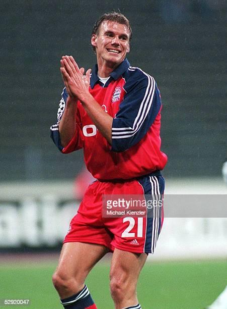 LEAGUE 99/00 Muenchen FC BAYERN MUENCHEN ROSENBORG TRONDHEIM 21 Alexander ZICKLER/BAYERN