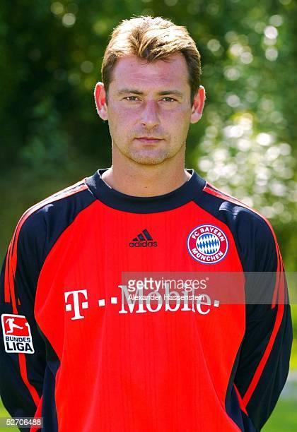 1 BUNDESLIGA 02/03 Muenchen FC BAYERN MUENCHEN TORWART Bernd DREHER