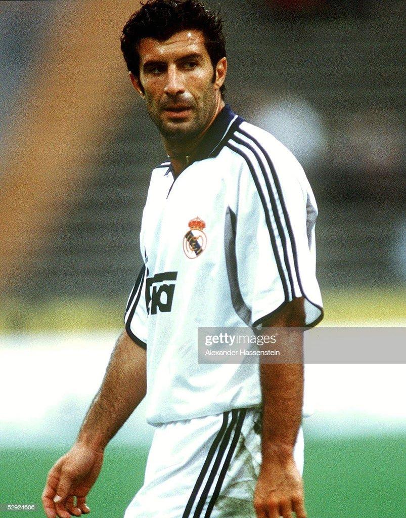 FUSSBALL Luis FIGO MADRID