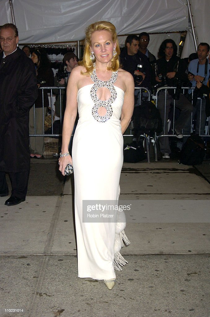 Muffie Potter Aston during The Costume Institute's Gala Celebrating 'Chanel' at The Metropolitan Museum of Art in New York City, New York, United States.