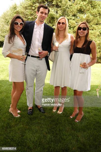 Muffy Hafner Andrew Danhuis Annika Finer and Gabriella Gioiello attend PULSE OF THE CITY GALA Comes To The Hamptons Hosted by the CARDIOVASCULAR...