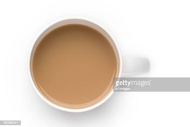 Mug blanc de café
