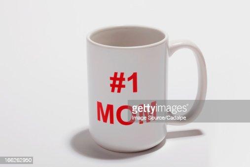 Mug reading #1 Mom