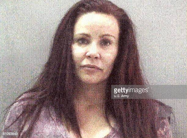 Mug Shot Of Actress Tawny Kitaen Is Seen April 1 2002 In Newport Beach Ca Kitaen Faces Two Misdemeanor Counts Of Spousal Abuse And Battery After...