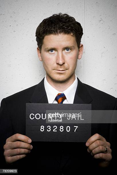 Mug shot of businessman