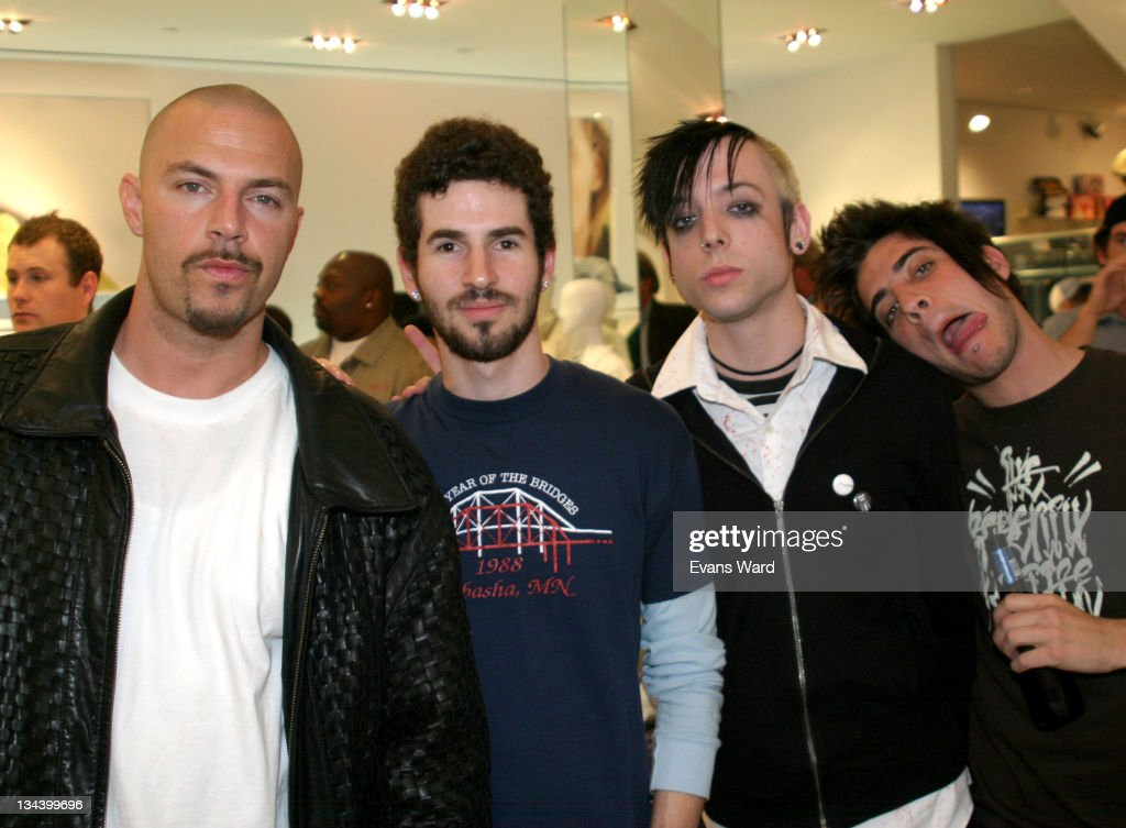 DJ Muggs of Cypress Hill Brad Delson of Linkin Park Billy Martin of Good Charlotte and Tal Cooperman