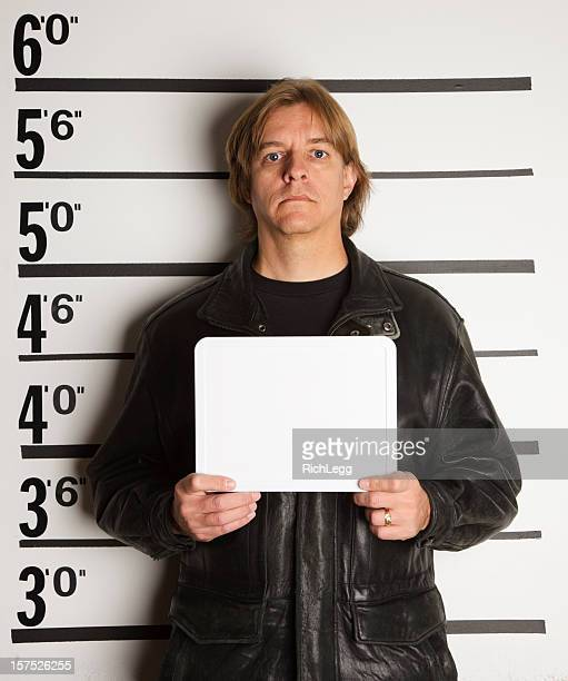 Mugshot of a Man