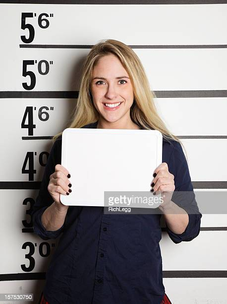 Mugshot of a School Girl