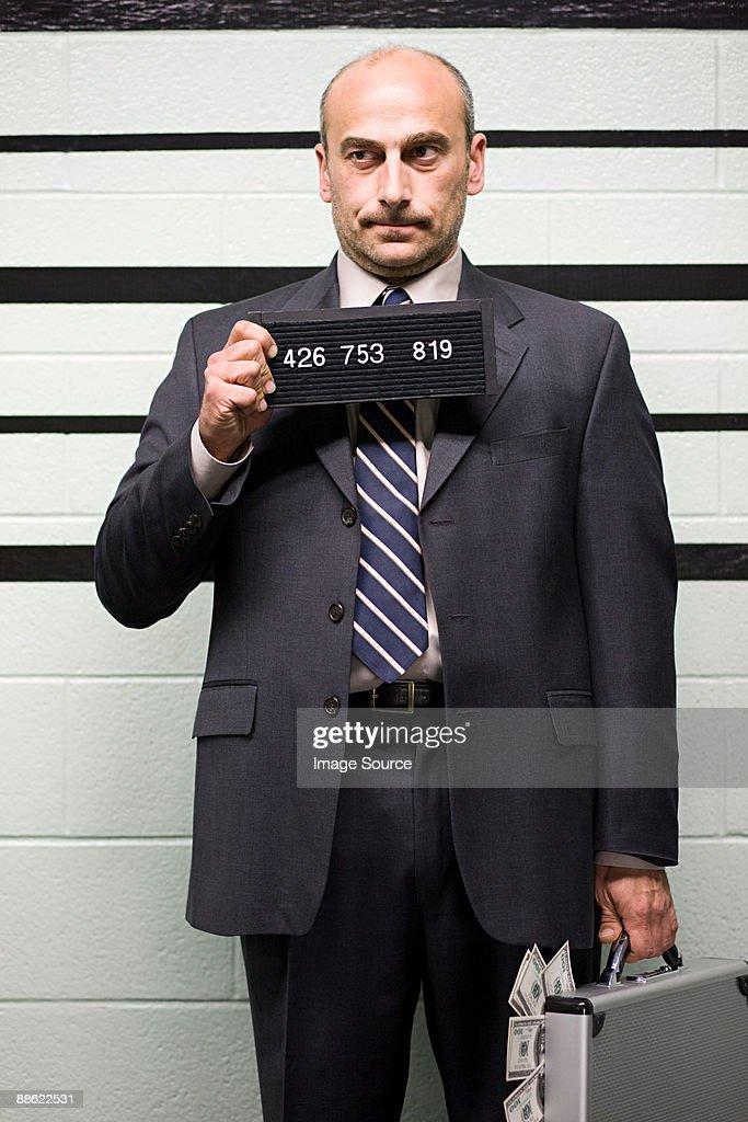 Mugshot of businessman