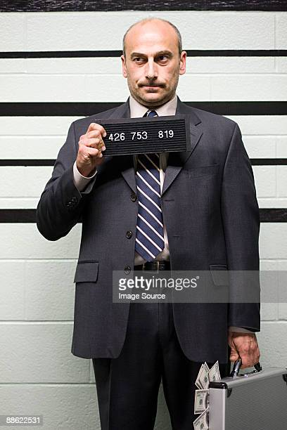 Mugshot of businessman