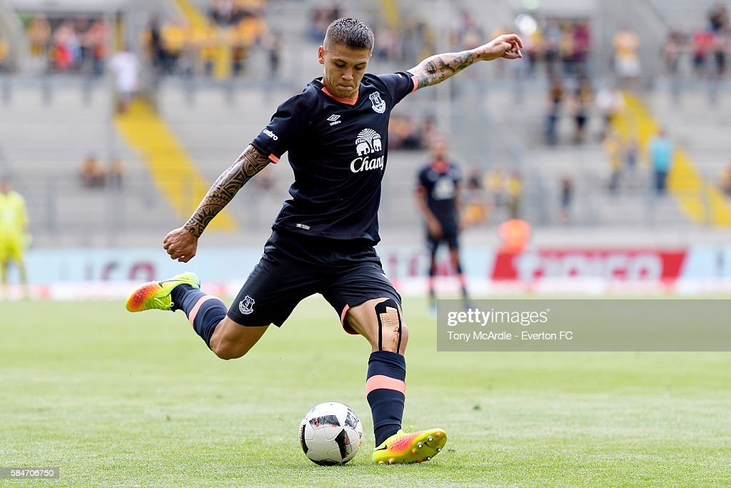 FC Everton v Real Betis - Dynamo Dresden Cup 2016 : News Photo