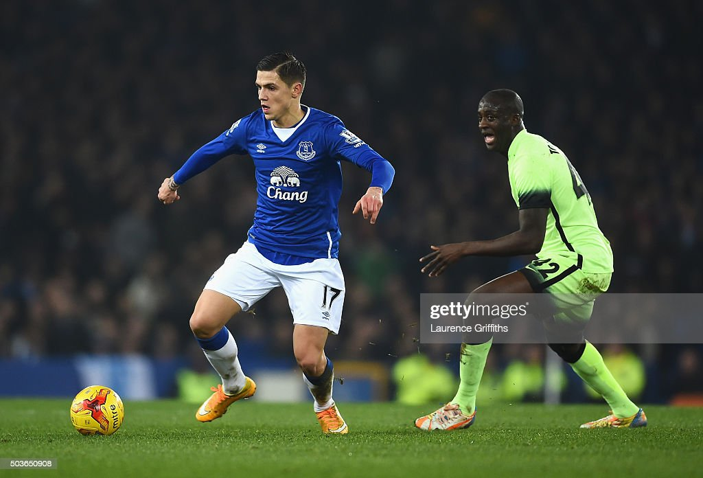 Everton v Manchester City - Capital One Cup Semi Final: First Leg
