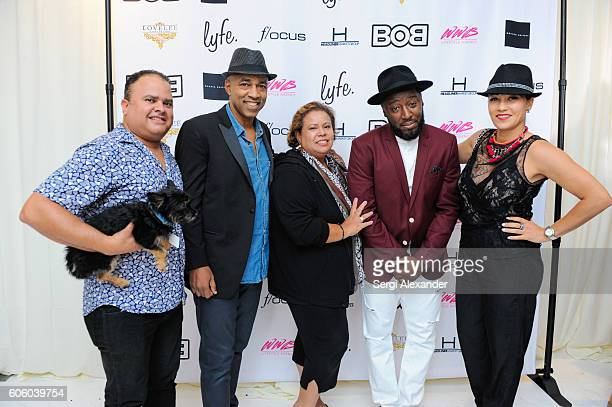 Muhamed Moretta and Bob Metelus attend Haitian photographer Bob Metelus unveils newest collection Haiti A Collective Cry from a Forgotten Paradise on...