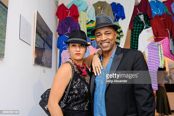 Muhamed Moretta attends Haitian photographer Bob Metelus unveils newest collection Haiti A Collective Cry from a Forgotten Paradise on September 15...