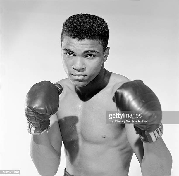 Muhammad Ali 20 year old heavyweight contender from Louisville Kentucky poses for the camera on May 17 in Long Island New York