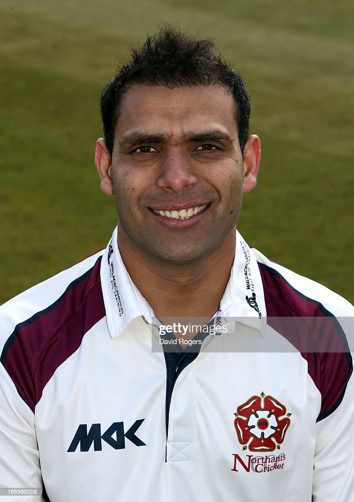 Muhammad Azhar Ullah of Northamptonshire County Cricket Club poses for a portrait at the County Ground on April 3, 2013 in Northampton, England.