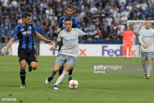 Muhammad Besic during the first match of Group E of the UEFA Europa League between Atalanta Bergamasca Calcio and FC Everton at Mapei StadiumCitt del...