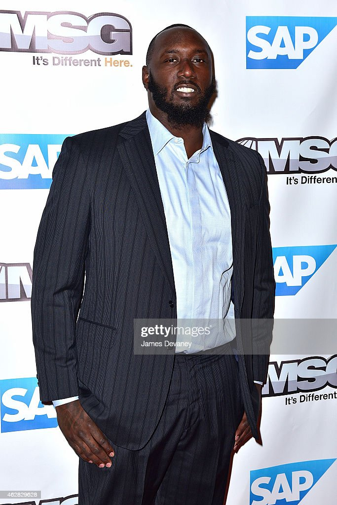 Muhammad Wilkerson attends MSG Networks Original Programming Party at Madison Square Garden on February 5, 2015 in New York City.