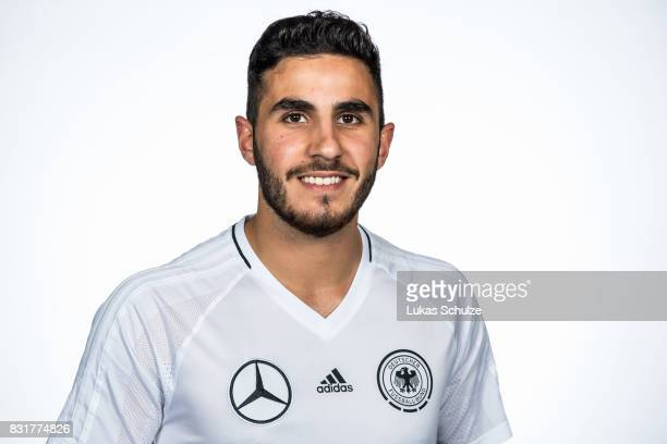 Muhammet Soezer poses at Sport School Wedau on August 11 2017 in Duisburg Germany