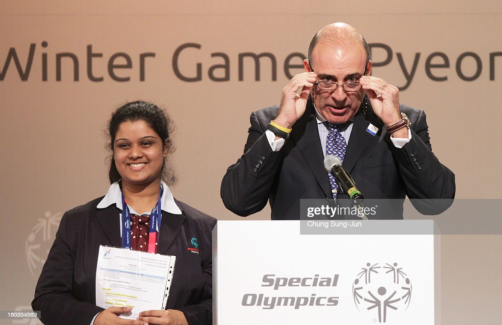 Muhtar Kent, CEO of Coca Cola attends Global Development Summit on the sideline of the Pyeongchang Special Olympic on January 30, 2013 in Pyeongchang-gun, South Korea. Aung San Suu Kyi, Myanmar's opposition leader and Nobel Peace Prize laureate is on a 5-day tour to South Korea.