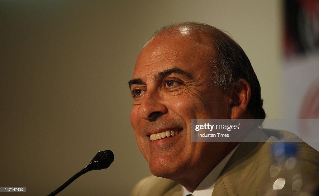Coca-Cola CEO Muhtar Kent Media Briefing