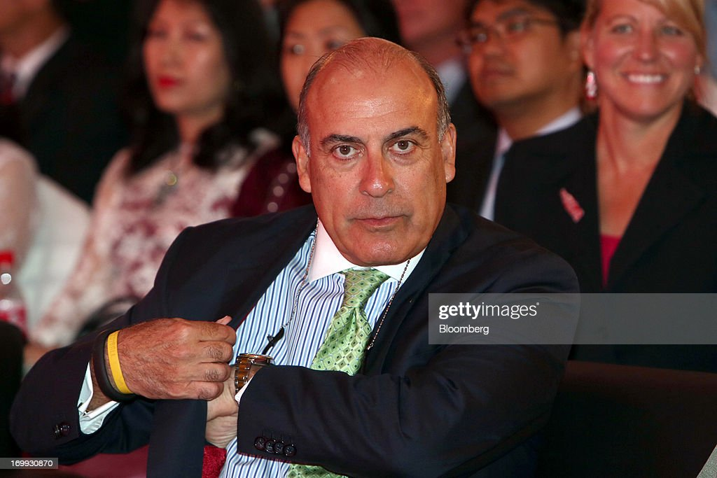 Muhtar Kent, chief executive officer of Coca-Cola Co., attends the opening ceremony for the company's bottling plant in Hmawbi, Myanmar, on Tuesday, June 4, 2013. Kent marked the return of the world's largest soda maker to Myanmar after 60 years by opening a bottling plant and pledging more investment in the newly opened economy. Photographer: Dario Pignatelli/Bloomberg via Getty Images