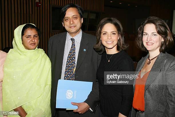 Mukhtar Mai Shashi Tharoor Soledad O'Brien and Joan Larovere