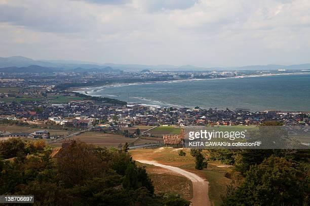 Mukibanda remains, Tottori Prefecture, Honshu, Japan