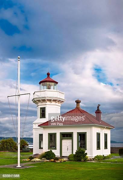 Mukilteo Lighthouse Puget Sound Washington