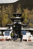 Muktinath, sacred precinct, Hindu temple