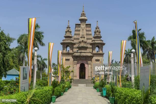 Mulagandha kuti vihar temple, sarnath, uttar pradesh, india, asia