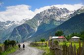 Mulakhi valley, Caucasus mountain