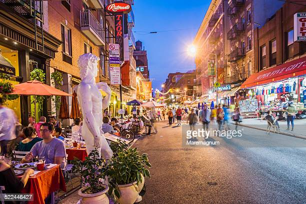 Mulberry street, Copy of David by Michelangelo