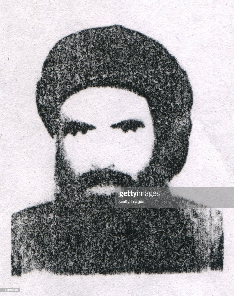 Mullah Omar chief of the Taliban is shown in this headshot photo Military forces from the United States and Britain have begun attacking targets...