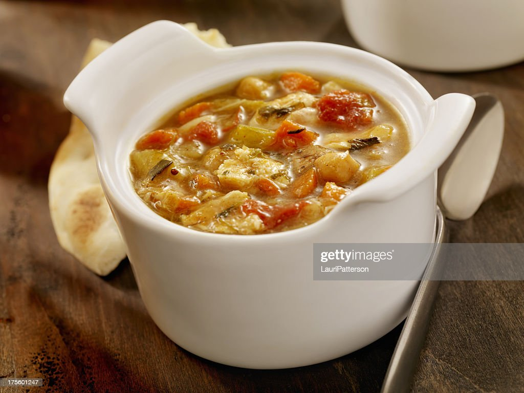 Mulligatawny Soup : Stock Photo