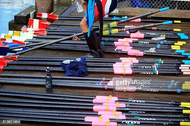 Multi Color Rowing Oars