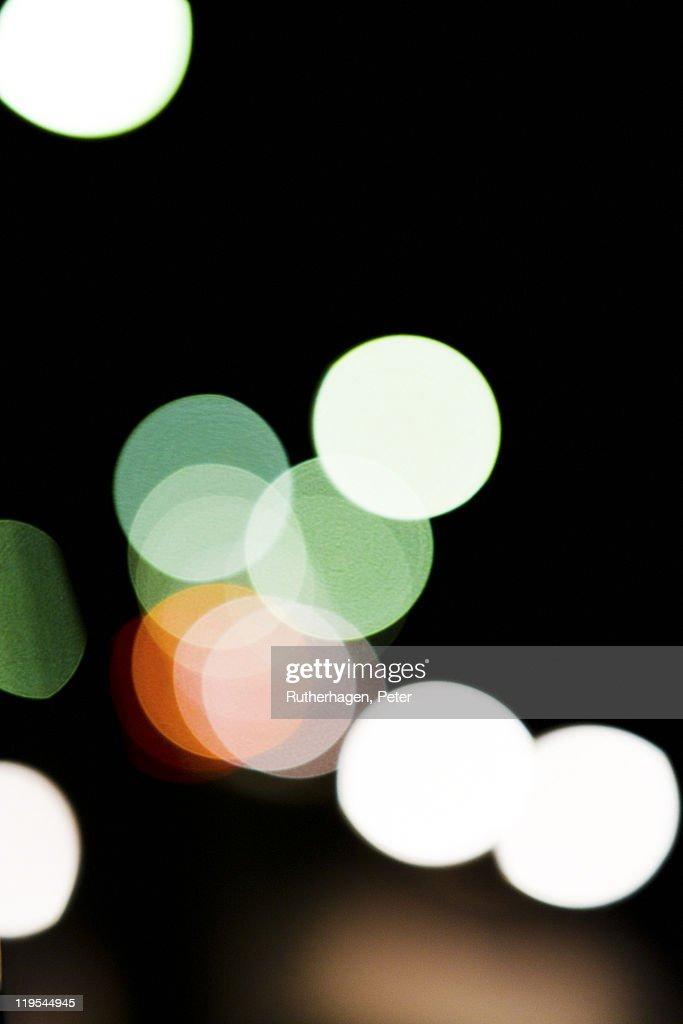 Multi colored reflection of city : Foto stock