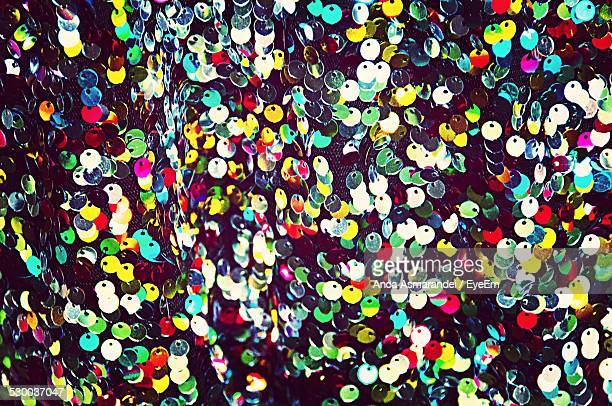 Multi Colored Sequins