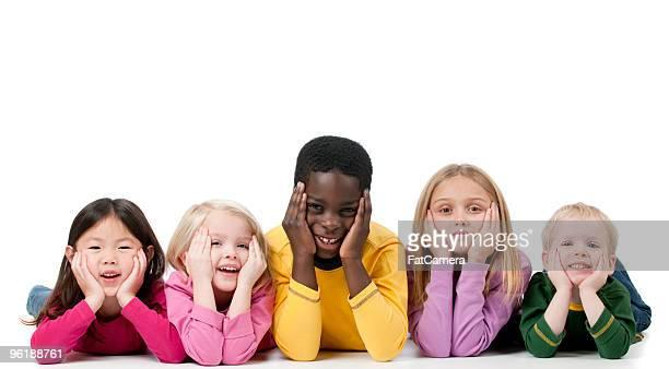 Multi étnica crianças
