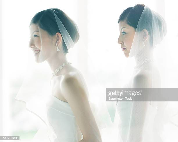 Multi Exposure Of Bride