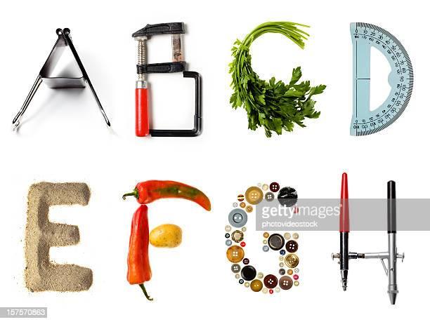 Multi Stil alphabet